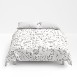 Cat Party Comforters