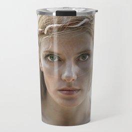 Portrait of a Mermaid Travel Mug