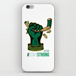 Stay Strong with HULK Humboldt Broncos! iPhone Skin