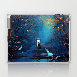 Tardis Lost In The Forest Laptop & iPad Skin