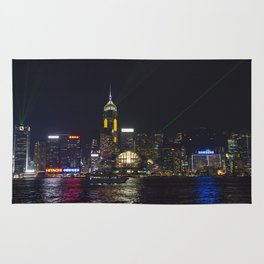 Hong Kong Symphony of Lights Rug