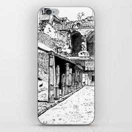Herculaneum Courtyard iPhone Skin