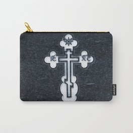 Russian Greek Orthodox Cross Carry-All Pouch
