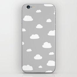 little clouds iPhone Skin