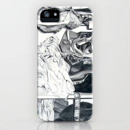 Disheveled Clothes iPhone Case