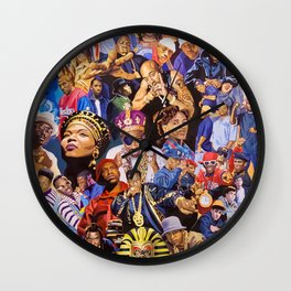 HIPHOP--LEGEND Wall Clock