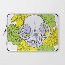 Persian Kitty Skull Laptop Sleeve