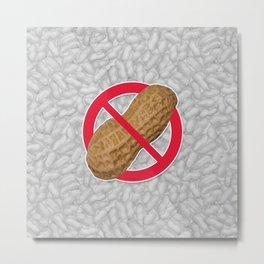 Peanuts Are Forbidden - Les Arachides Sont Interdites Metal Print