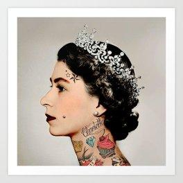 Rebel Queen Kunstdrucke