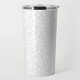 Laurel leaves ( White ) Travel Mug