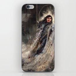 Fingolfin challenges Morgoth iPhone Skin