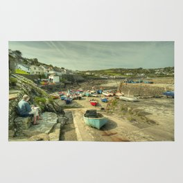 Coverack Harbour Rug