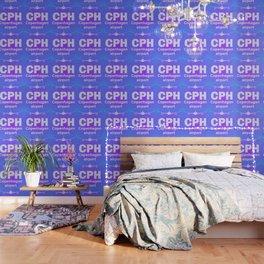 CPH Copenhagen airport blue Wallpaper