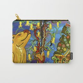 """Xochipilli's Golden Child"" by ICA PAVON Carry-All Pouch"