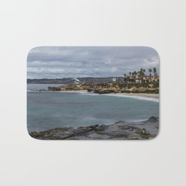 Casa and Wipeout Beaches, La Jolla, California Bath Mat
