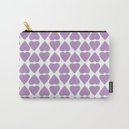 Diamond Hearts Repeat O Carry-All Pouch