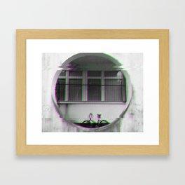 b1k3 Framed Art Print