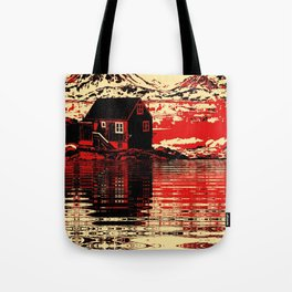 House on the Fjord Tote Bag