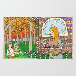 Hansel and Gretel (color) Rug