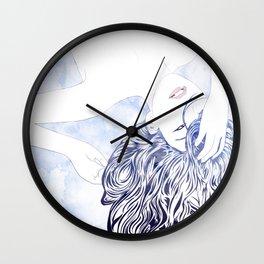 Tresses IV Wall Clock