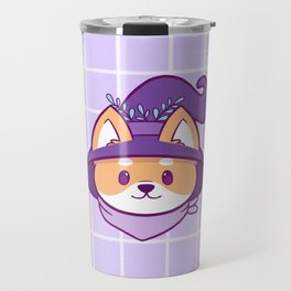 Witch Doggo Travel Mug