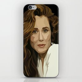 Red Haired Beauty iPhone Skin