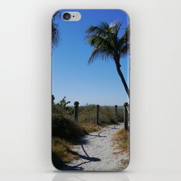 Captiva Island Beach Access iPhone Skin