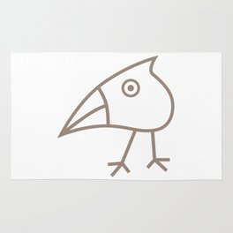 Quirky Bird Rug