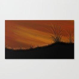 Steppe Canvas Print