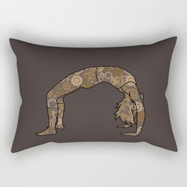 Urdhva Dhanurasana Rectangular Pillow