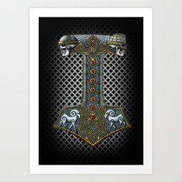 Tribute to Thor Art Print