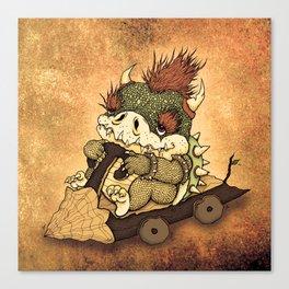 The First Kart  Canvas Print