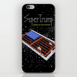 SuperTrump - Crimes of the century iPhone Skin