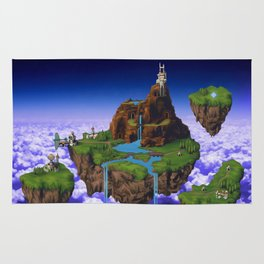Floating Kingdom of ZEAL - Chrono Trigger Rug