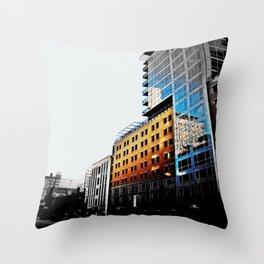 Near Ervay  Throw Pillow