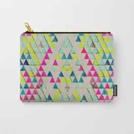 TRIANGLE SUMMER Carry-All Pouch