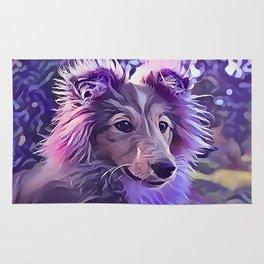 Shetland Sheepdog Puppy Rug