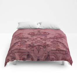 Palace Gate - Berry Comforters