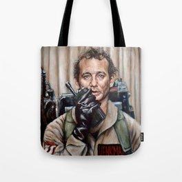 Bill Murray / Ghostbusters / Peter Venkman Tote Bag