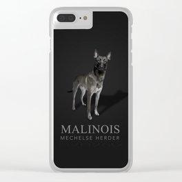 Malinois - Belgian shepherd Clear iPhone Case