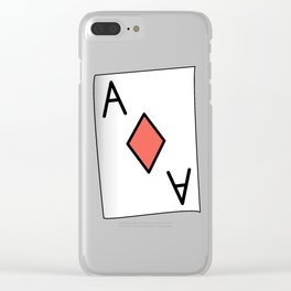 The Aces Have It Clear iPhone Case