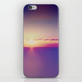Sunset on the Atlantic Ocean iPhone Skin