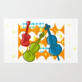 Sunny Grappelli String Jazz Trio Composition Rug