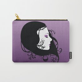 Violet Paragon Carry-All Pouch