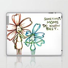 """""""Moms Know Best"""" Flowerkid Laptop & iPad Skin"""