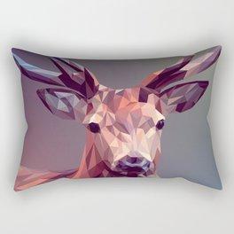 Deer geometric new Rectangular Pillow