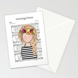 Amazing Grace - Blonde Braid Stationery Cards