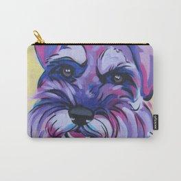 Schnauzer Pop Art Pet Portrait Carry-All Pouch