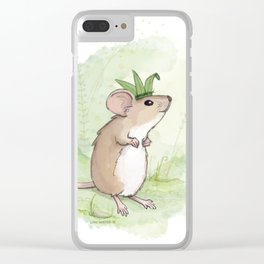 A Little Mouse Prince Named Reed Clear iPhone Case