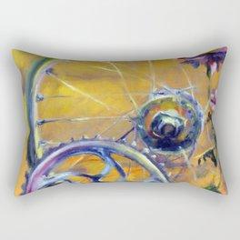 Bicycle Mango Rectangular Pillow